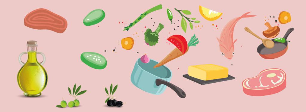Mat & livsmedel som är LCHF