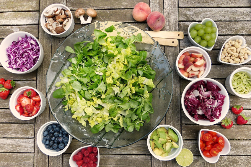 Vegetariskt kost mat