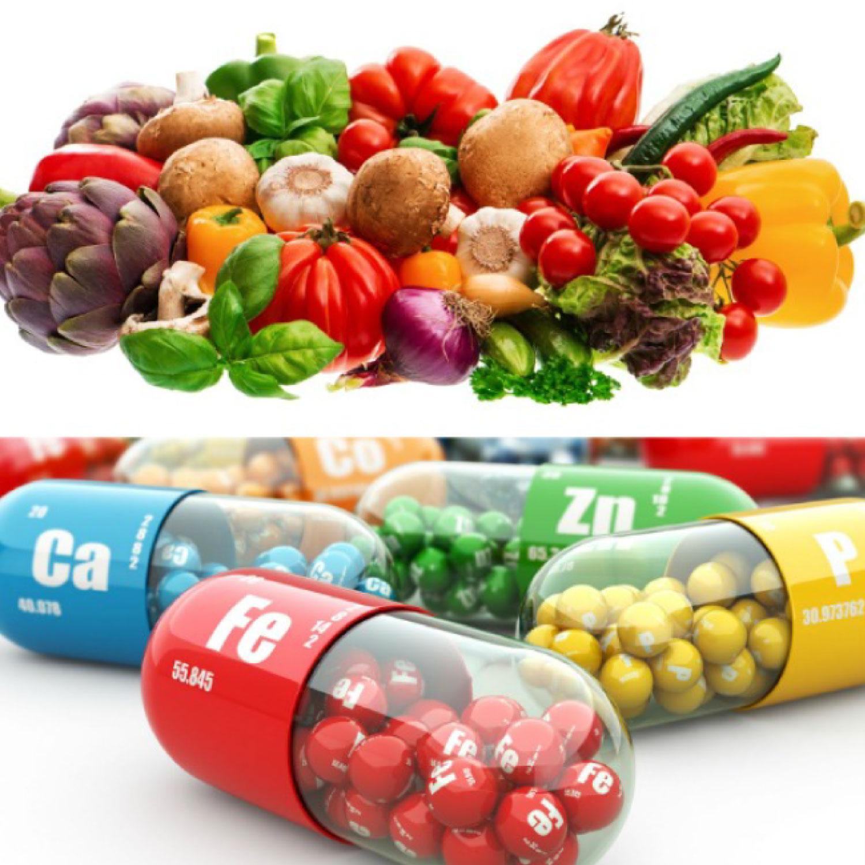 Mineraler: kalium, kalcium, magnesium, selen och järn i kosten - Diabetes